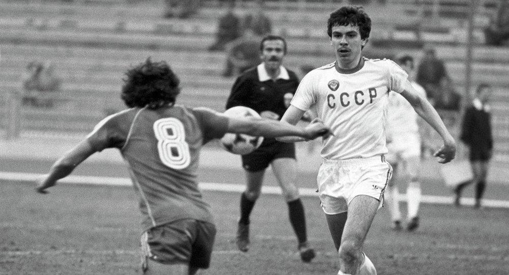 Андрей Зыгмантович в составе сборной команды СССР