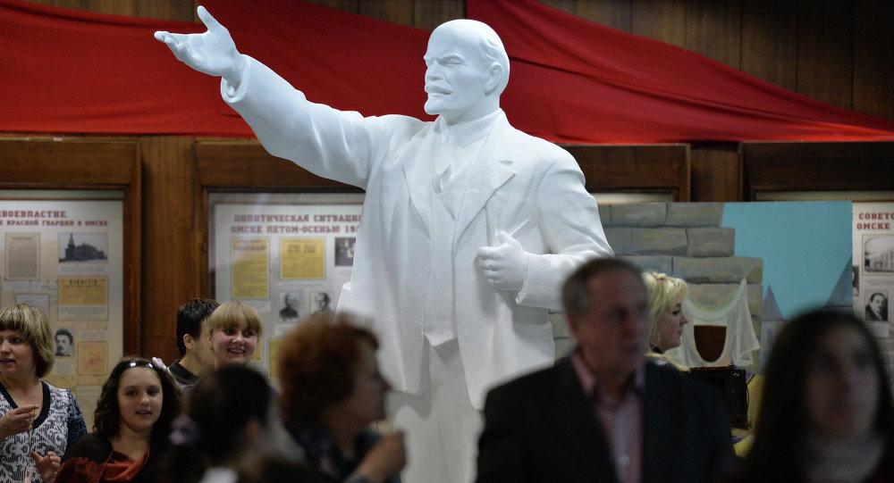 Статуя Ленина. Архивное фото