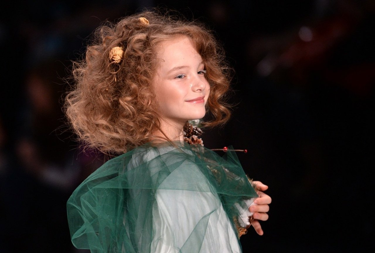 Показ коллекции дизайнерской детской одежды Юлии Карченковой