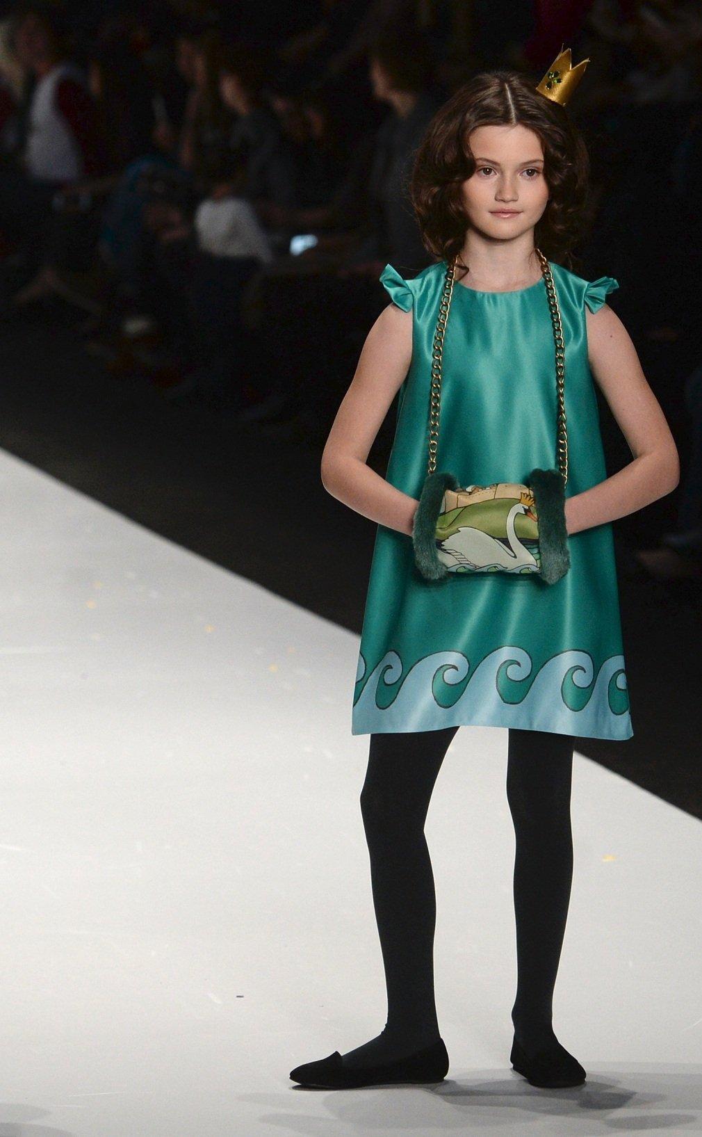 Показ коллекции дизайнерской детской одежды Маргариты Быковской