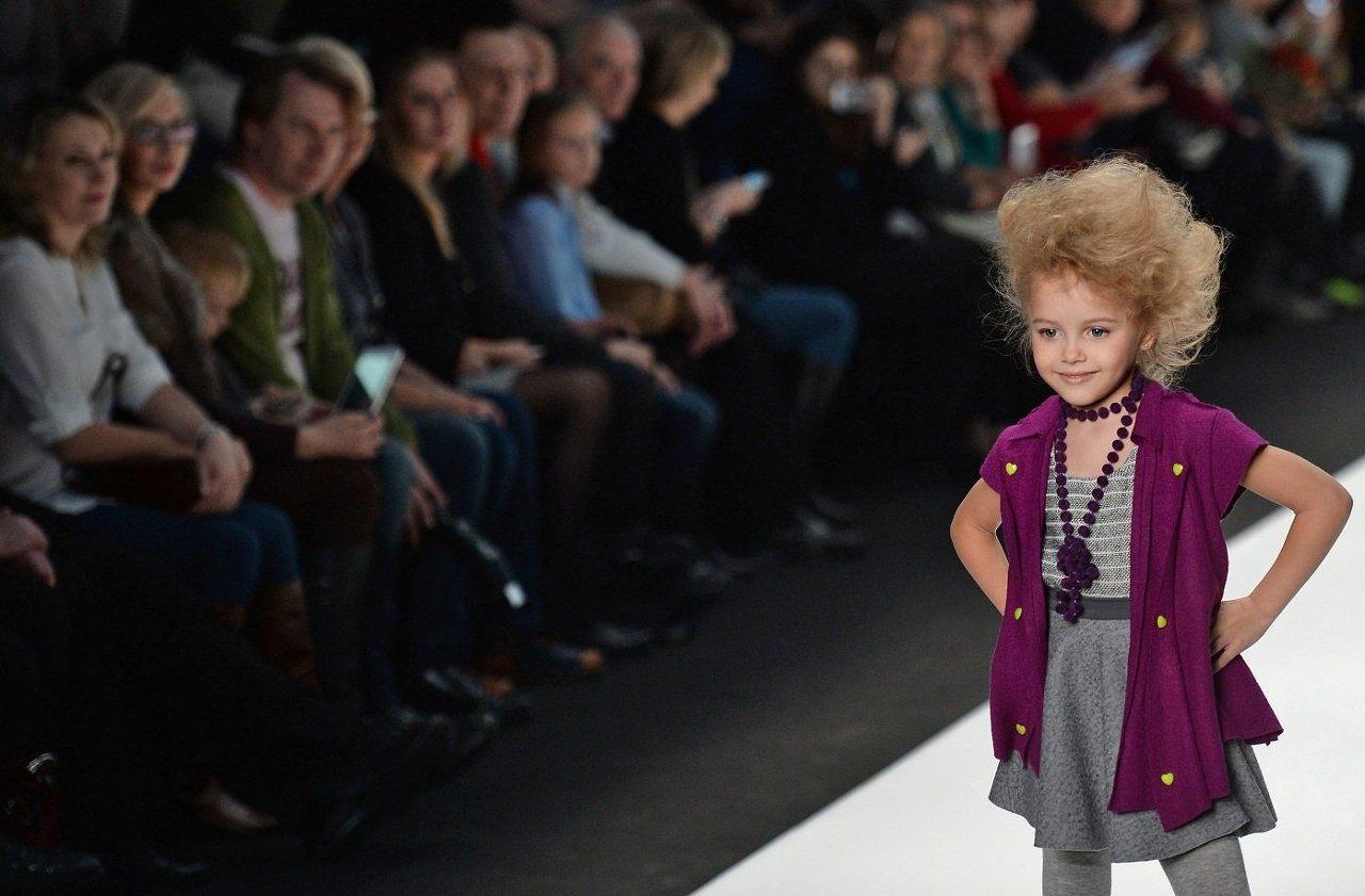 Показ коллекции дизайнерской детской одежды от Полины Голуб