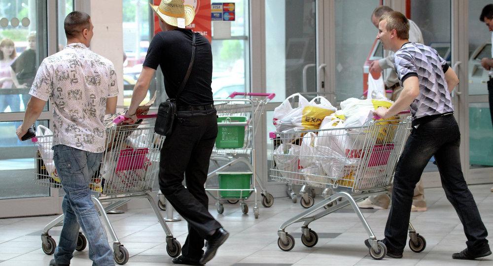 Повышенный спрос на белорусские товары. Архивное фото