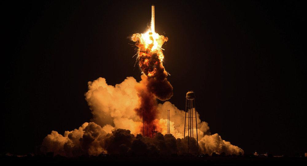 Авария при запуске ракеты Antares