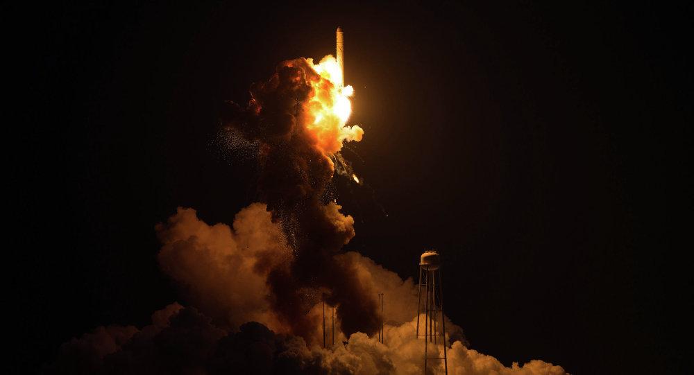 Взрыв грузовика Cygnus