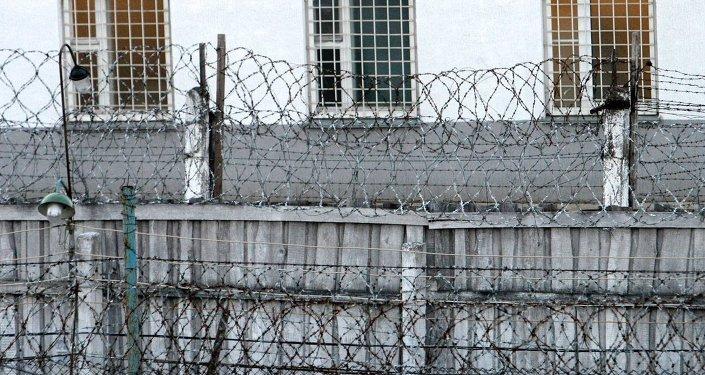 Охранный периметр Минской исправительной колонии, архивное фото