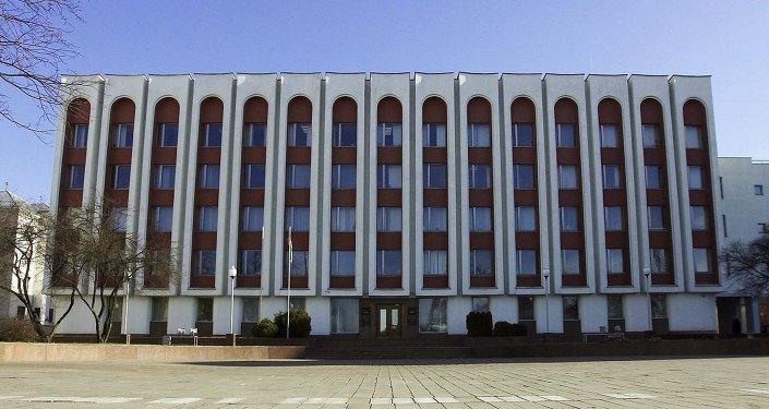 Здание министерства иностранных дел Республики Беларусь, архив