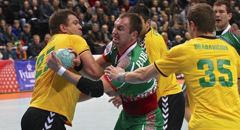 Линейный сборной Беларуси  по гандболу Максим Бабичев
