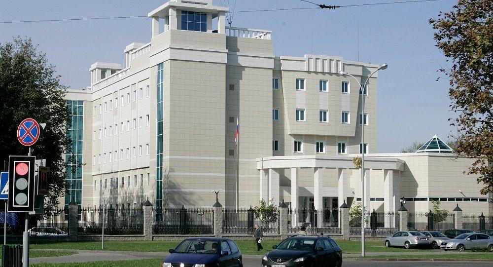 Посольство Российской Федерации в Республике Беларусь, архивное фото