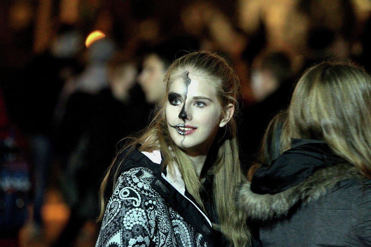 Лица Хэллоуина