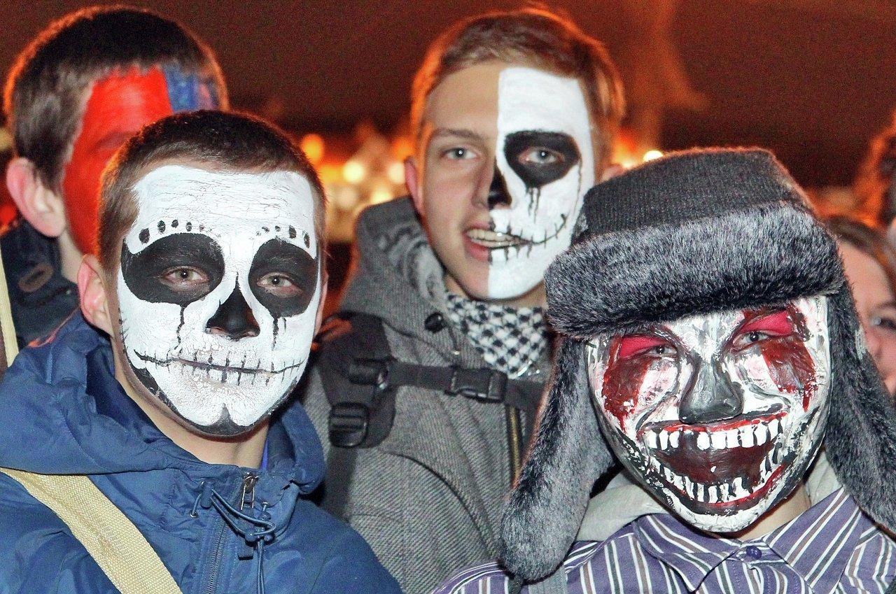 Хэллоуин на минских улицах
