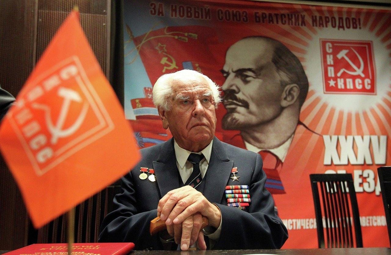 Бывший первый секретарь ЦК КП Белоруссии, Герой социалистического труда Николай Слюньков