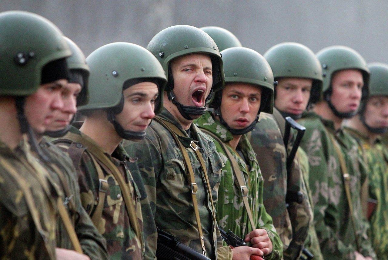 Право носить краповые береты 4 ноября завоевывали спецназовцы