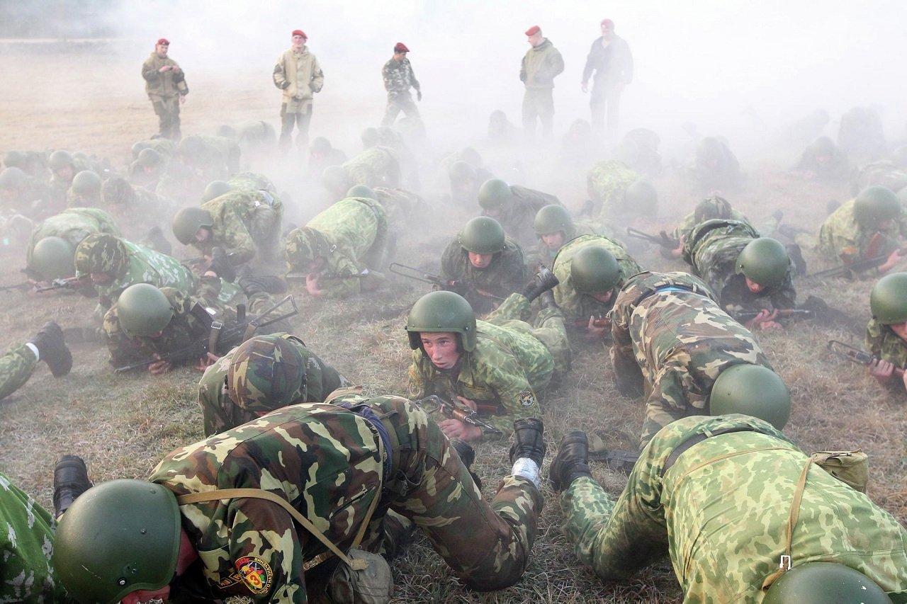 После испытания мышеловка 10 бойцов спецназа сошли с дистанции