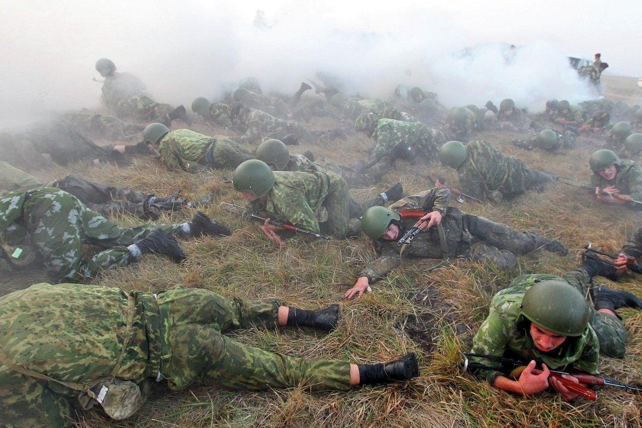 Последний рывок  состязания —  «мышеловка». До конца испытаний дошли 35 спецназовцев