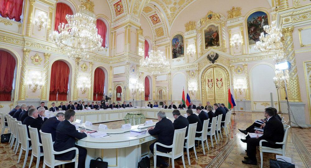 Заседание Высшего Государственного Совета Союзного государства