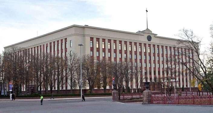 Здание администрации президента Беларуси