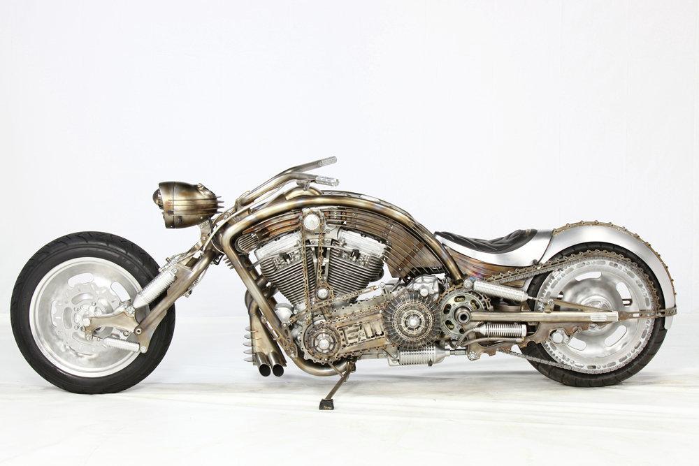 Кастом-мотоцикл Терминатор создан к 30-летию премьеры фильма