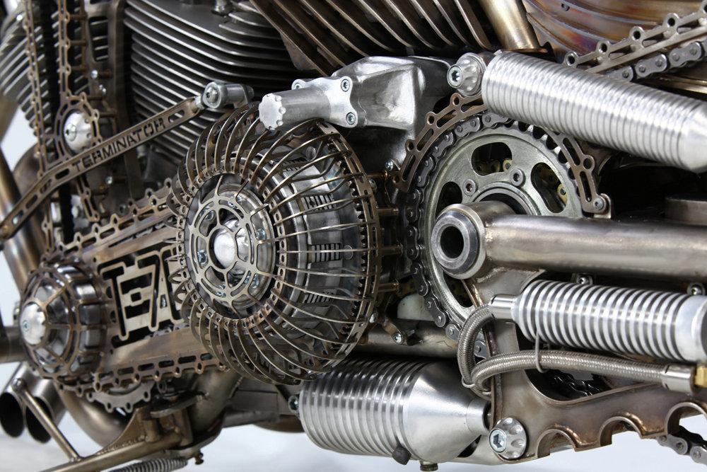Кастом-мотоцикл Терминатор