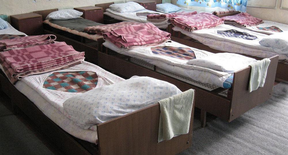 Спальня в детском доме