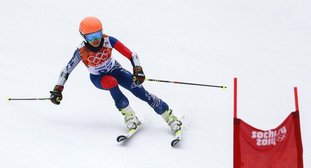 Ванесса Мэй в олимпийском Сочи