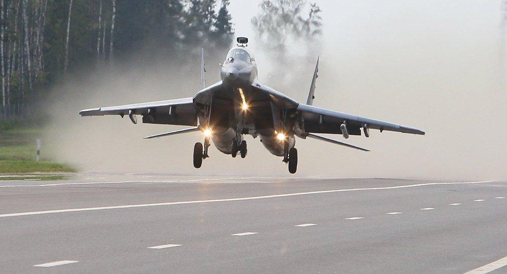 Самолет МиГ-29 белорусских ВВС, архивное фото