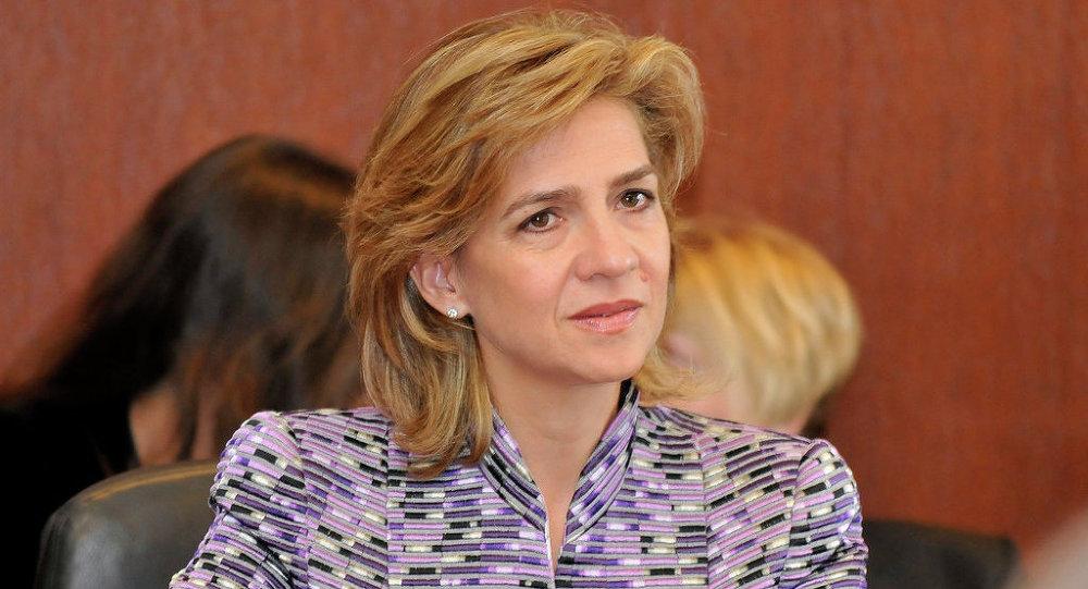 Инфанта Кристина де Бурбон, вторая дочь короля и королевы Испании