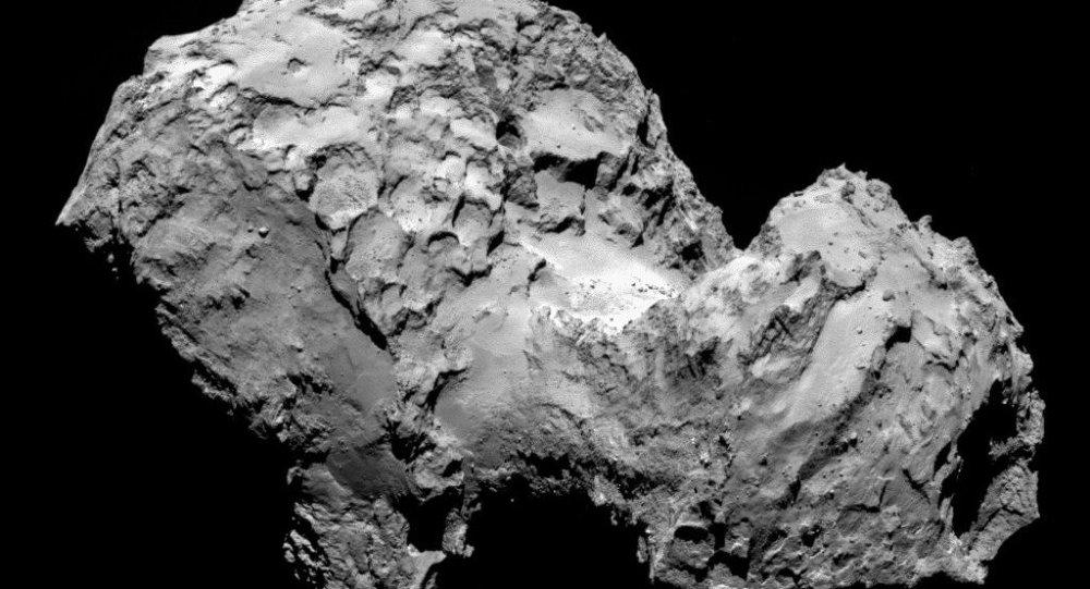 Комета Чурюмова - Герасименко, фото зонда Розетта