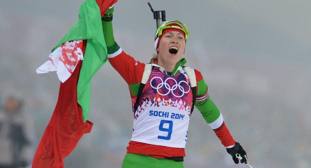 Олимпиада 2014. Биатлон. Женщины. Гонка преследования
