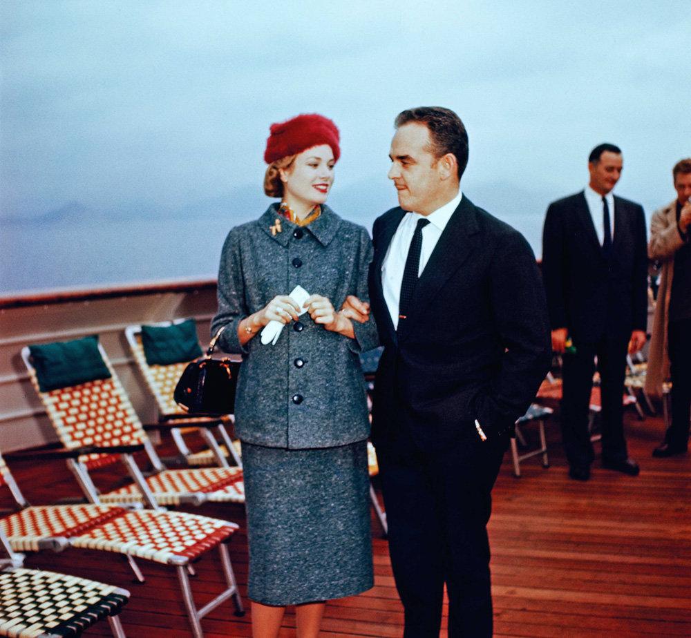 Грейс Келли с мужем