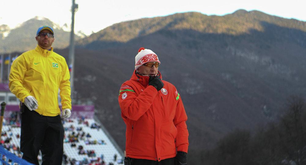 Главный тренер белорусской команды по фристайлу Николай Казеко