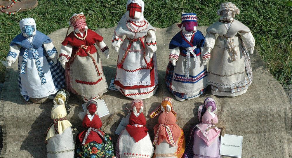 Украинская кукла-мотанка