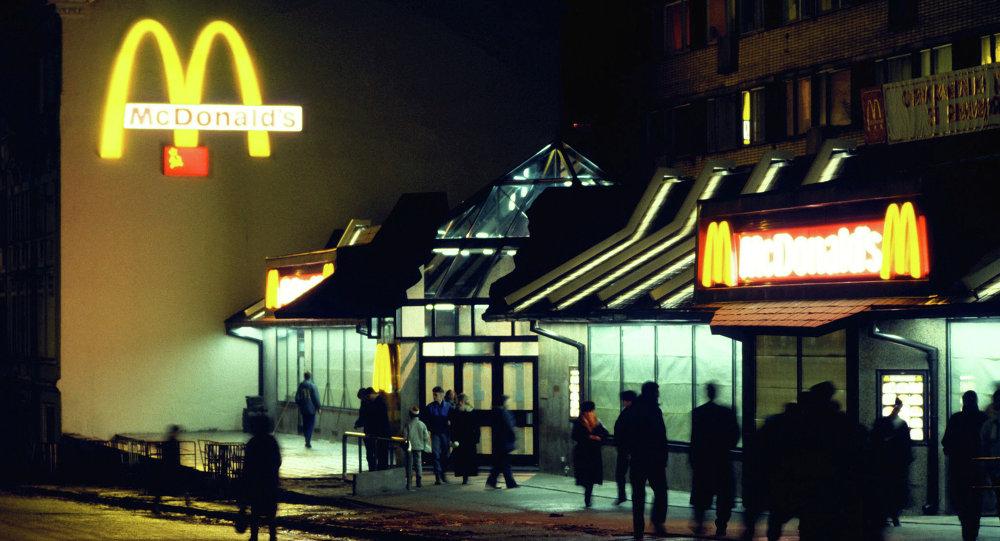 Ресторан Макдоналдс в Москве