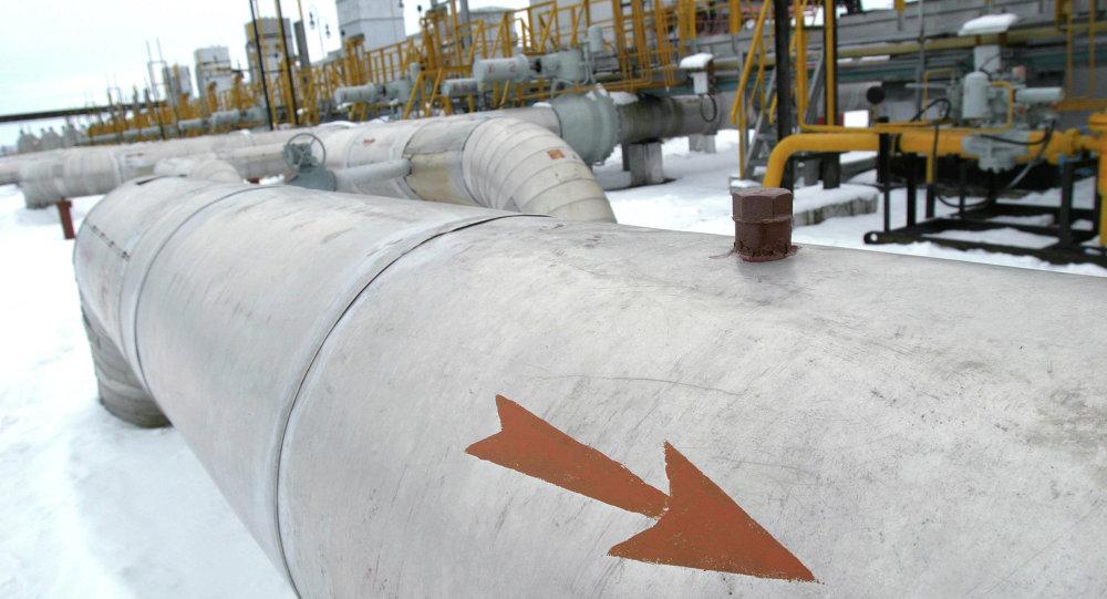 Участок компрессорной станции ОАО Газпром