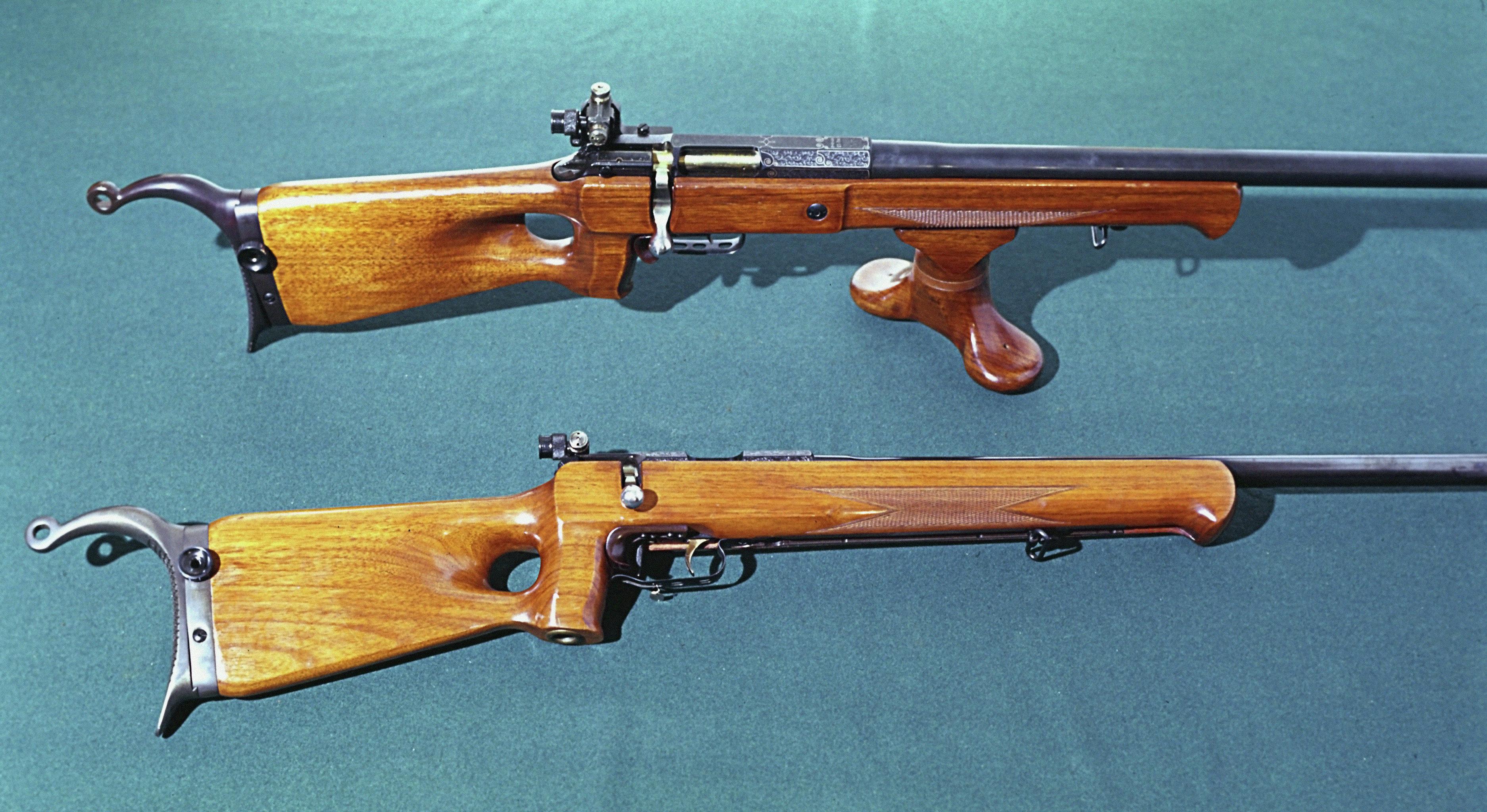 Винтовки из Тульского музея оружия