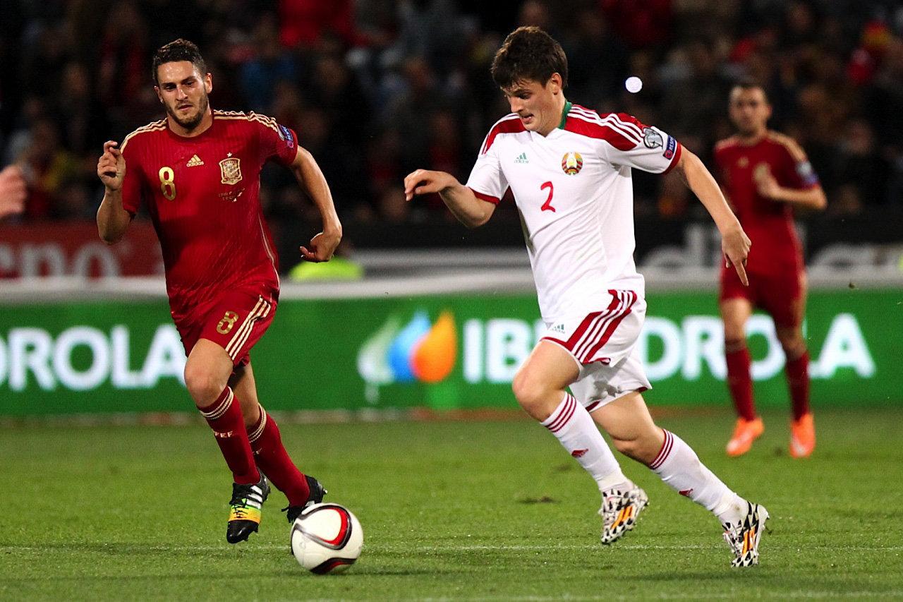 Отборочный матч к ЧЕ-2016 Испания - Беларусь