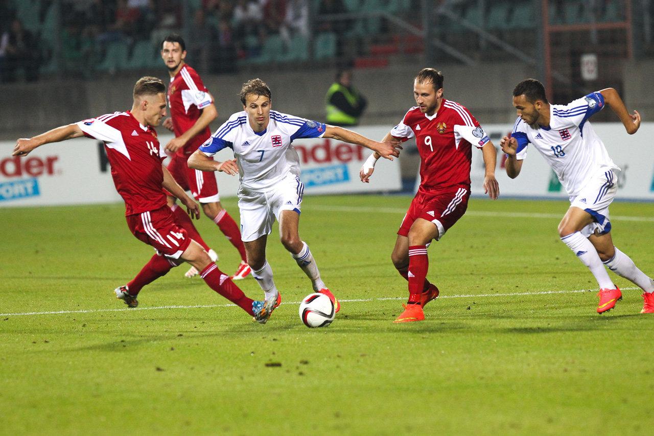 Отборочный матч к ЧЕ-2016 Люксембург - Беларусь