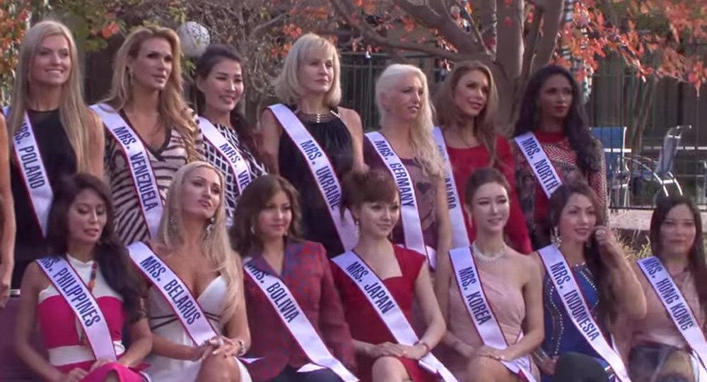 Участницы конкурса Миссис Мира-2014