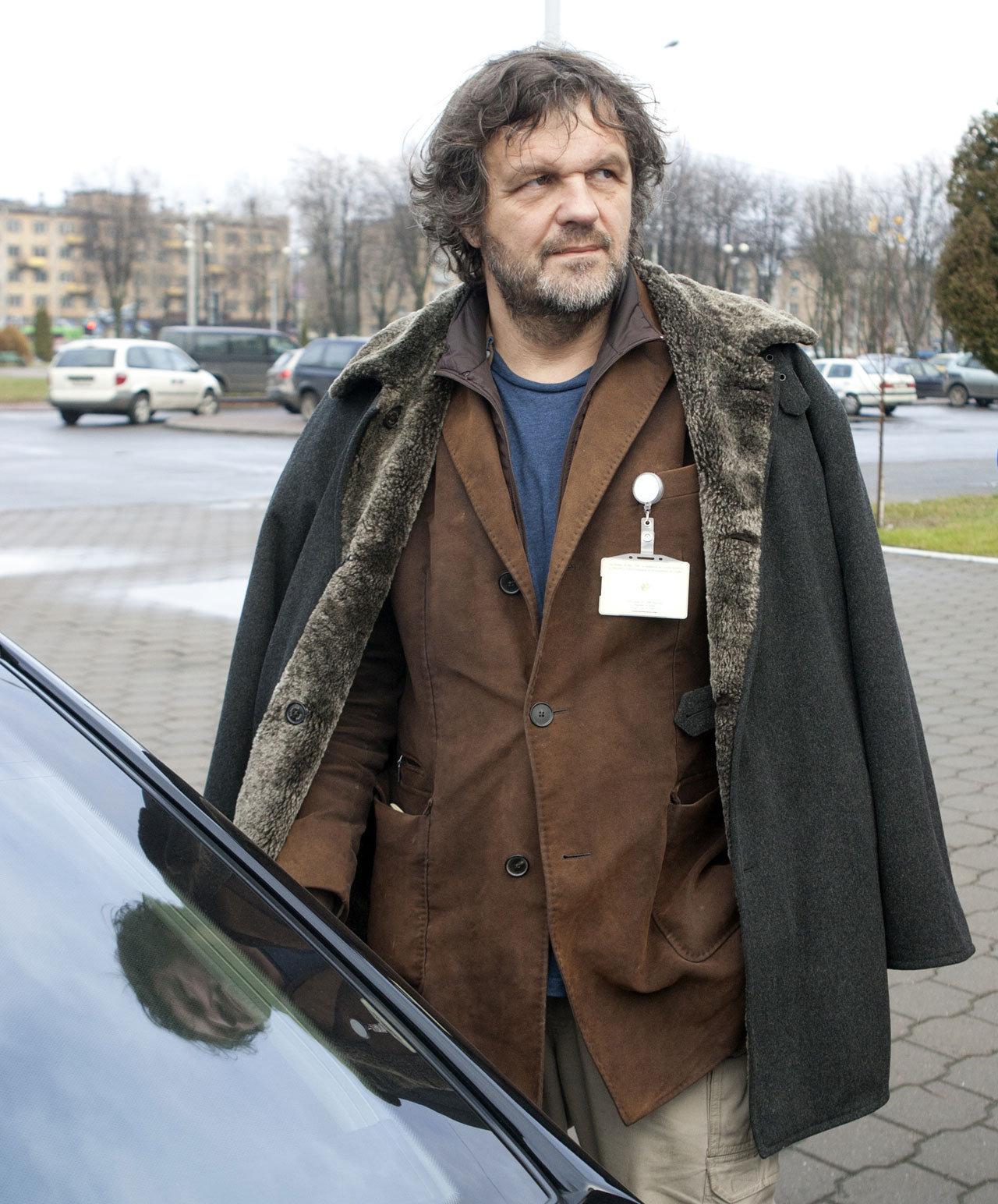 Эмир Кустурица на кинофестивале Лiстапад в Минске