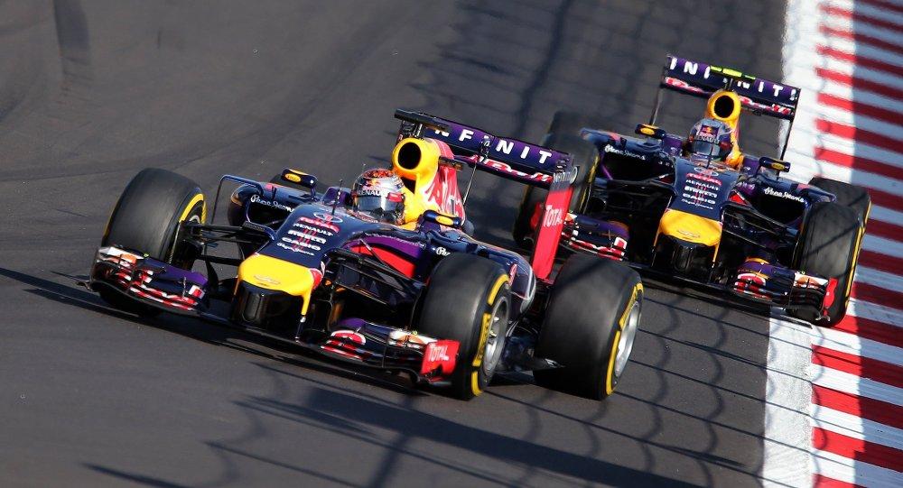 Гонка Формулы-1, архивное фото