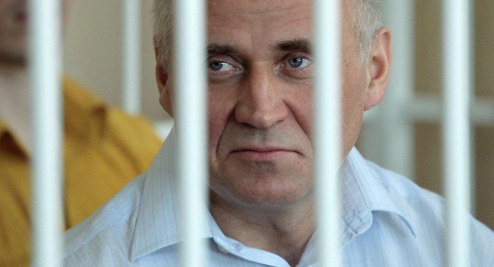Оглашение приговора экс-кандидатам в президенты Беларуси Н.Статкевичу и Д.Уссу