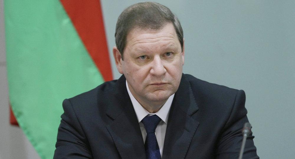 Министр Евразийской экономической комиссии (ЕЭК) по промышленности и агропромышленному комплексу Сергей Сидорский