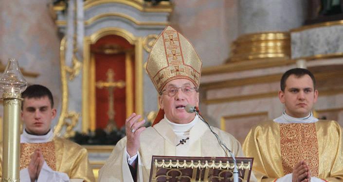 Архиепископ Митрополит Минско-Могилевский Тадеуш Кондрусевич, архивное фото
