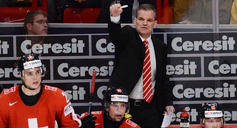 Главный тренер сборной Швейцарии Шон Симпсон