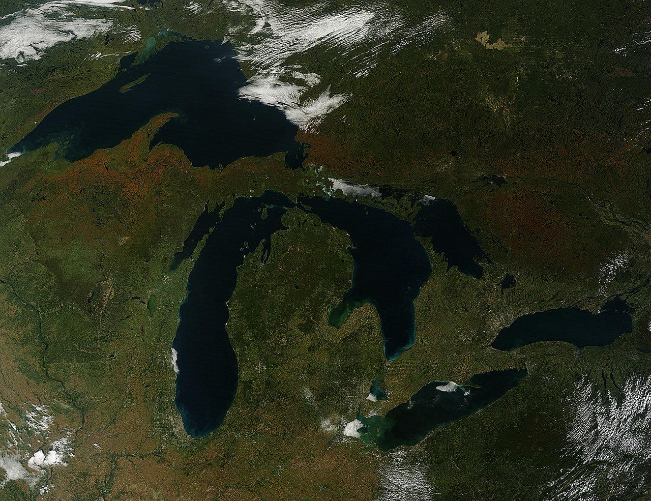Ландшафт Северной Америки