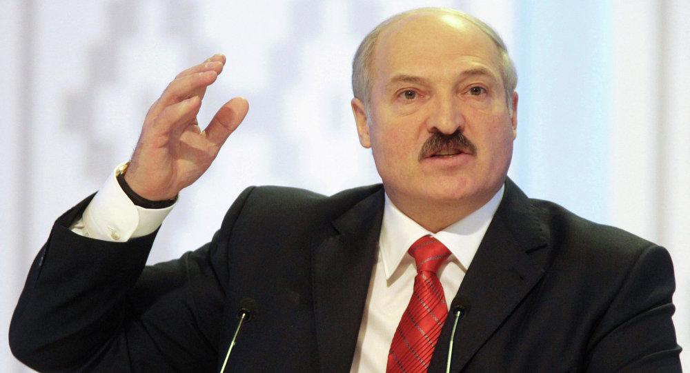 Президент Беларуси  Александра Лукашенко