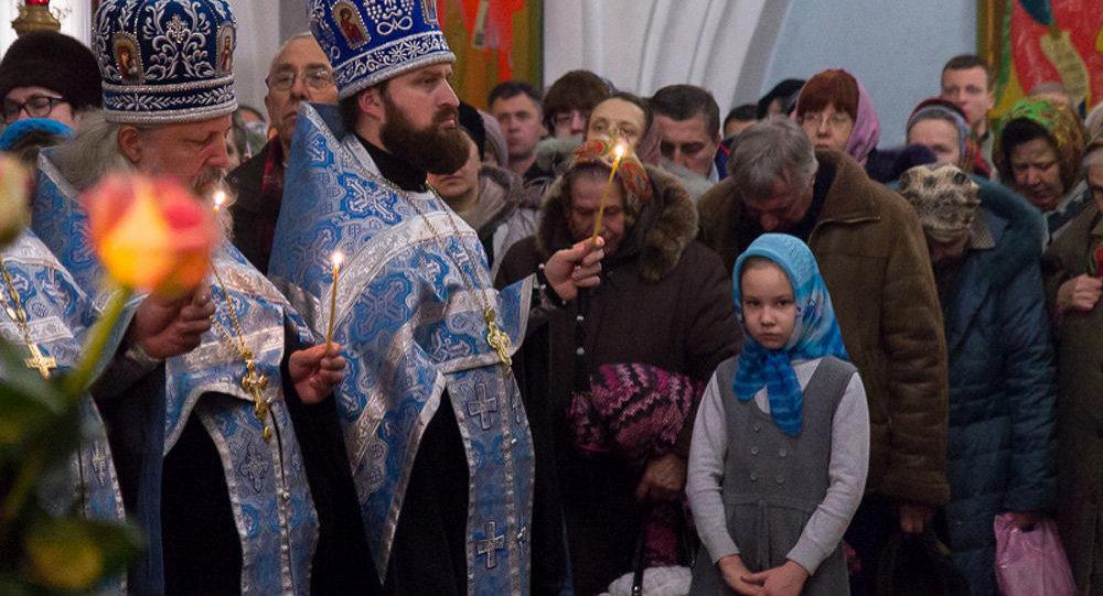 В канун праздника Введения во храм Пресвятой Богородицы