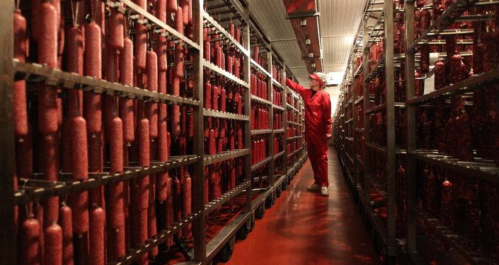 На белорусском мясоперерабатывающем предприятии