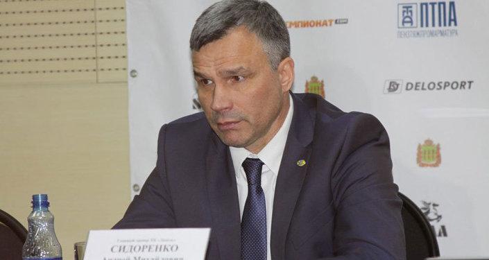 Главный тренер ХК Дизель Андрей Сидоренко