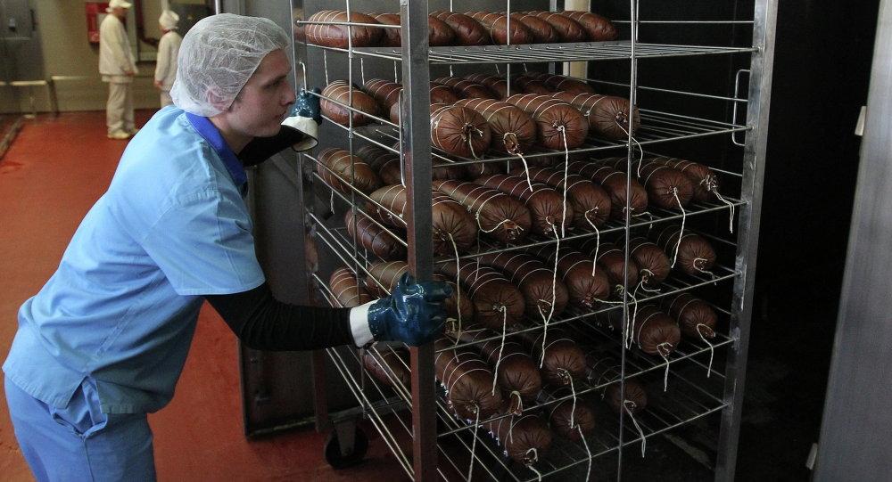 На белорусском мясокомбинате