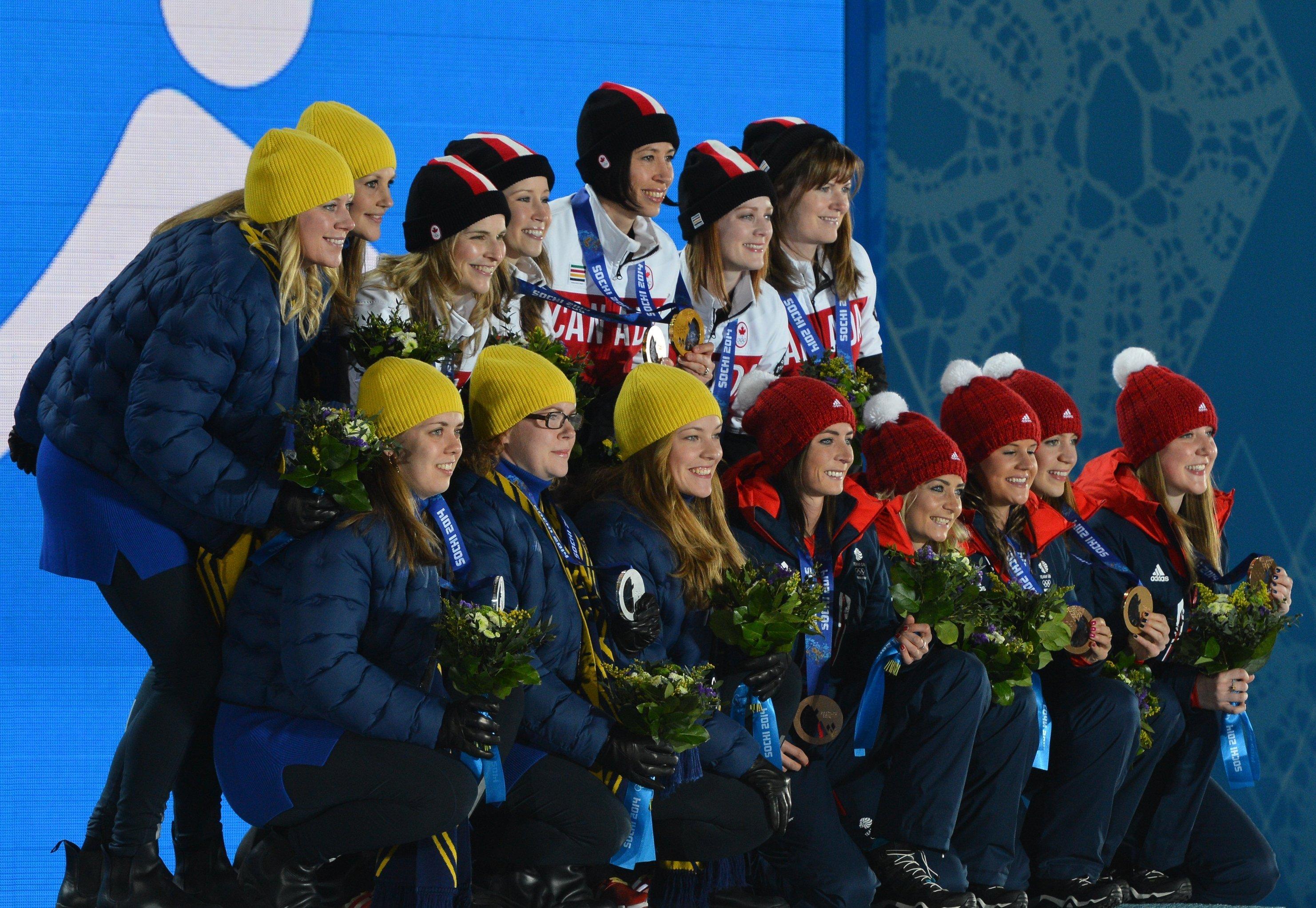 Олимпиада 2014. Церемония награждения. Пятнадцатый день